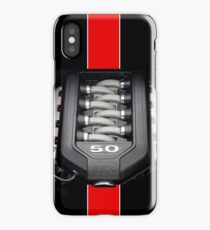 Ford Mustang 5.0 (iPhone and Samsung Case) iPhone Case/Skin