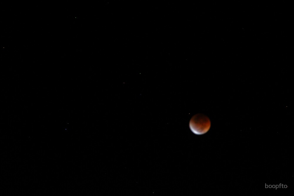 August 28th Lunar Eclipse-Fully Eclipsed by boopfto