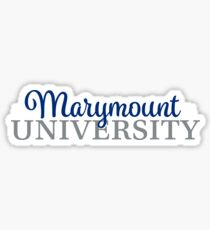 Style 6 - Marymount Sticker