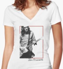 John Frusciante - 2003 Women's Fitted V-Neck T-Shirt