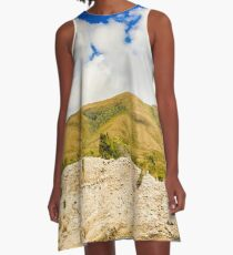 Majestic rugged Australia landscape A-Line Dress