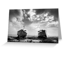 Boats in Barbados Greeting Card