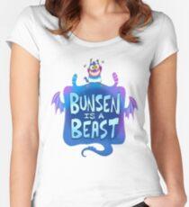 Bunsen is a Beast Women's Fitted Scoop T-Shirt