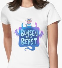 Bunsen is a Beast Women's Fitted T-Shirt