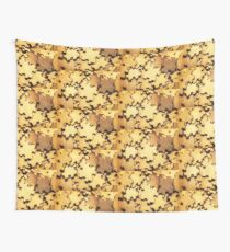 Antique puzzle of missing links Wall Tapestry