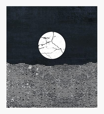 Crack in the Moon Photographic Print