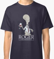 Roger for President Classic T-Shirt