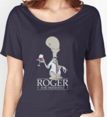 Roger for President Women's Relaxed Fit T-Shirt