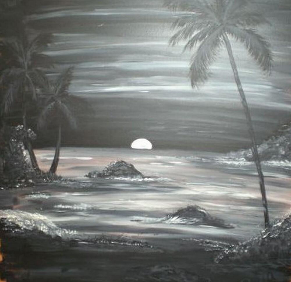 Painted Night Scene by Steven Slusher
