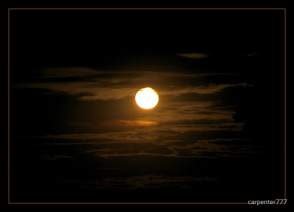 Orange moon by carpenter777