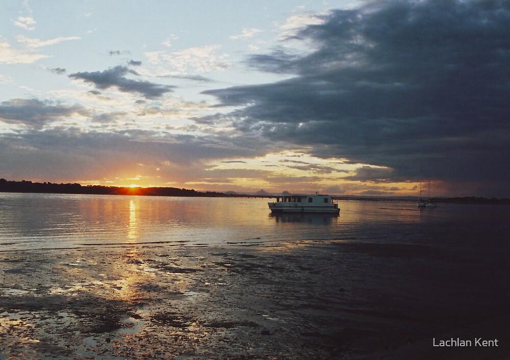 Bribie Island Sunset by Lachlan Kent