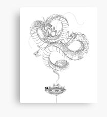 Dragon Shenron Canvas Print