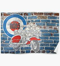 Mods VS Rockers - Mods Poster