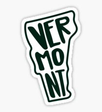 Vermont - Green Sticker