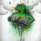 Rib Umbrella by Kaitlin Beckett