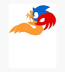 Team Sonic Photographic Print