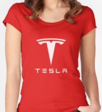 Tesla Motor Women's Fitted Scoop T-Shirt