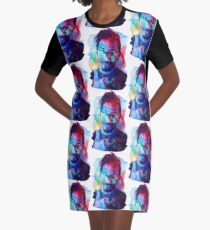 Markiplier Galaxy 2 Graphic T-Shirt Dress