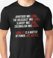 legal. Unisex T-Shirt