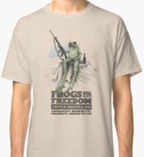 Frogs for Freedom Triple-Hopped IPA Classic T-Shirt