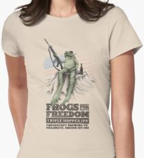 Frogs for Freedom Triple-Hopped IPA Women's Fitted T-Shirt