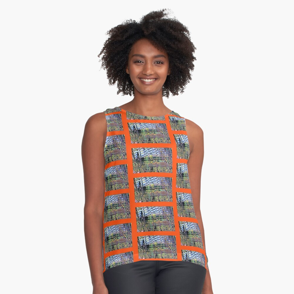 Modern Cities at 8+ Richter scale Contrast Tank Front