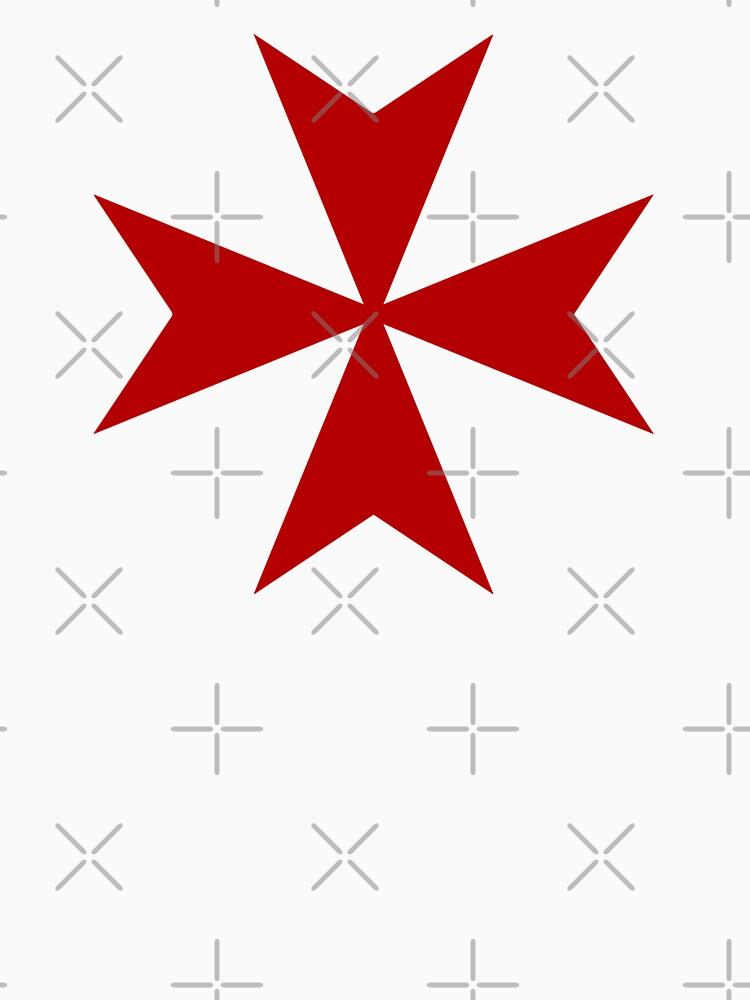 Cruz de Malta - Caballeros Templarios - Santo Grial - Las Cruzadas de createdezign