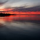 Sunset, Corio Bay Portarlington by Joe Mortelliti