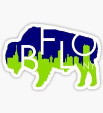 Buffalo - Blue & Gold Sticker