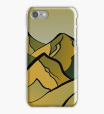 Mountains of the Wasteland iPhone Case/Skin