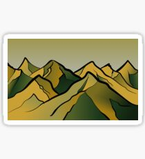 Mountains of the Wasteland Sticker