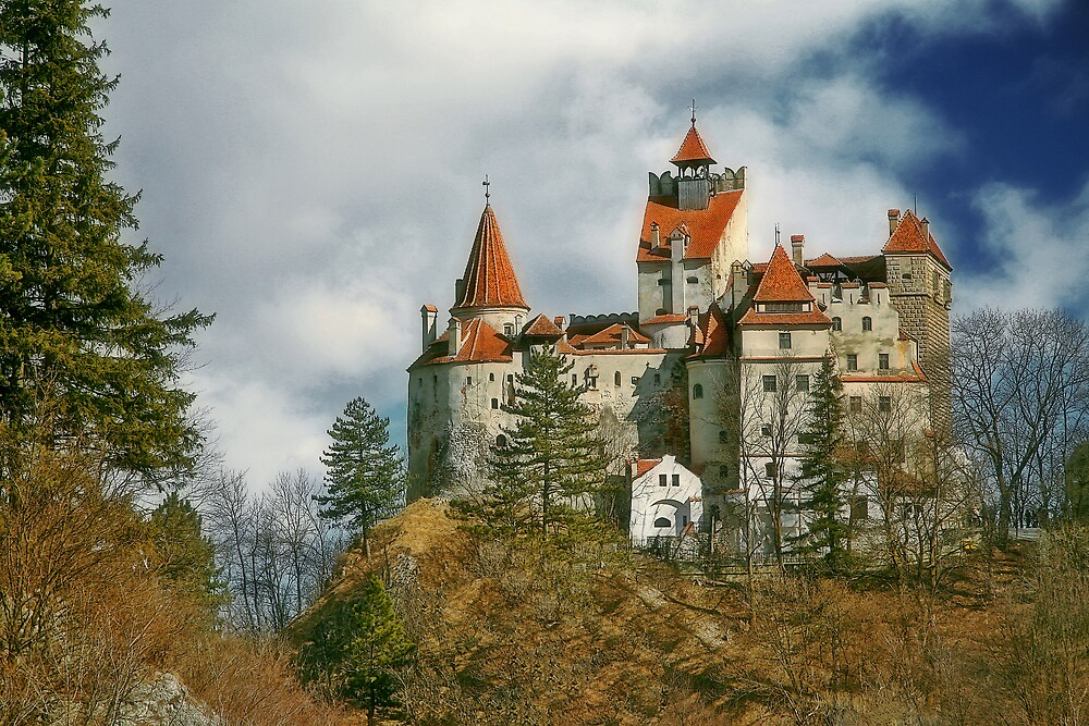 Bran Castle-Commonly known as Dracula's Castle (Bram Stoker) by GabiB