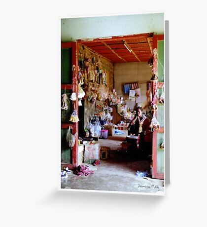 In My Shop, Laos Greeting Card