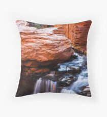 Hancock Gorge Throw Pillow