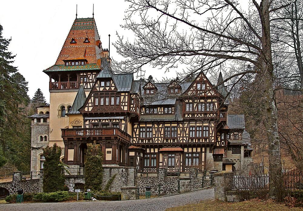 Pelisor Castle  by GabiB