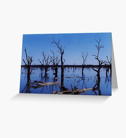 Land of Bone Trees Greeting Card