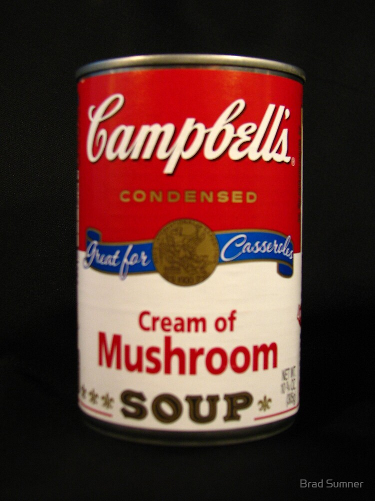 Campbell's Soup-A Tribute to Andy Warhol by Brad Sumner