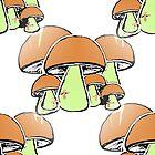 Mushrooms edit by Mat Saxon
