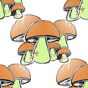 Mushrooms edit by matsaxon