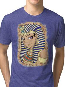 Pharaoh Atem Yu-Gi-Oh! Tri-blend T-Shirt