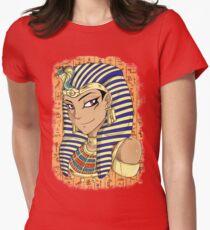 Pharaoh Atem Yu-Gi-Oh! Women's Fitted T-Shirt