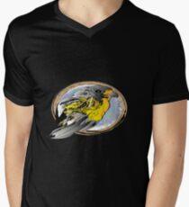 Boy Bird Mens V-Neck T-Shirt