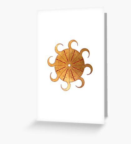 Shams Greeting Card