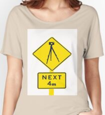 Tripod Ahead Women's Relaxed Fit T-Shirt