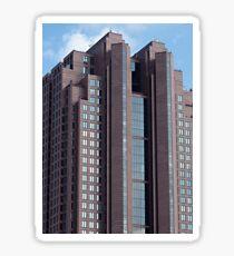 Buildings of Denver Colorado Sticker
