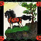 Halloween Pumpkin Horse by Stephanie Small