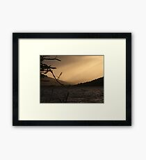Loch Ness Sunset, Scotland Framed Print