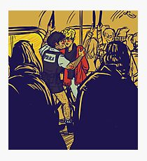 Enjolras gets arrested by Coptaire Photographic Print