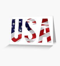 USA Patriot Greeting Card