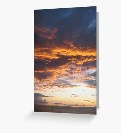 Worlds at sunrise Greeting Card
